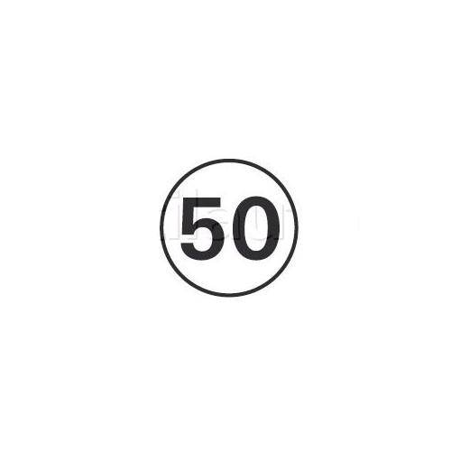 Disques limitation de vitesse 50 KM/H