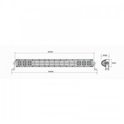 LED panel LED 60x 885mm moro LB0005M