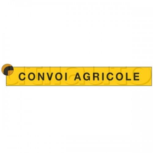 Signalisation des convois agricoles 1900x250