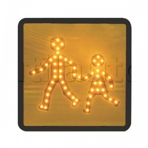 Plaques transport d'enfants à LEDS