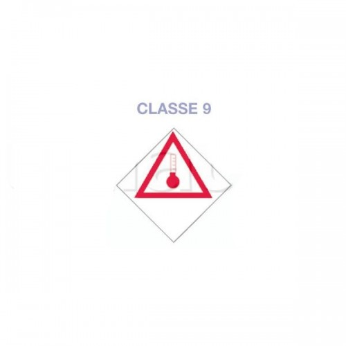 Symboles matières dangereuses 300 x 300 ADH TRS CHAUD