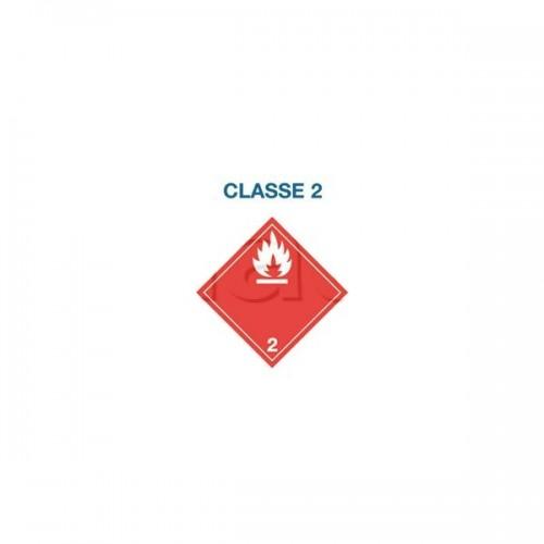 Symboles matières dangereuses 300 x 300 CL.2 FLA BLA