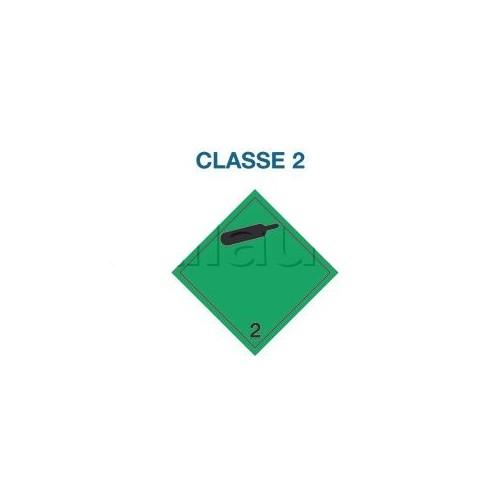 Symboles matières dangereuses 300 x 300 CL.2 B.NOIRE