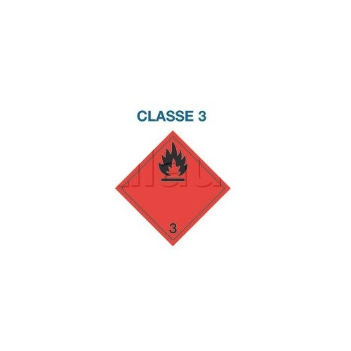 Symboles matières dangereuses 300 x 300 CL.3 FLA NOI