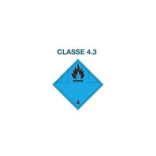 Symboles matières dangereuses 300 x 300 CL.4.3 BLEU