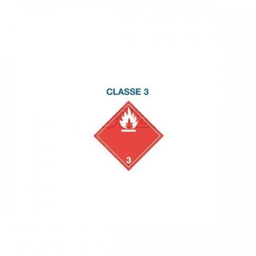 Symboles matières dangereuses 300 x 300 CL.3 FLA BLA