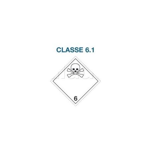 Symboles matières dangereuses 300 x 300 CL.6.1 MORT