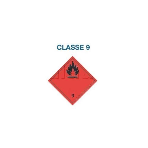 Symboles matières dangereuses 300 x 300 CL. 9
