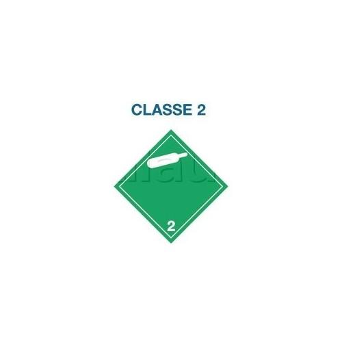 Symboles matières dangereuses 300 x 300 CL.2 BO.BLANC