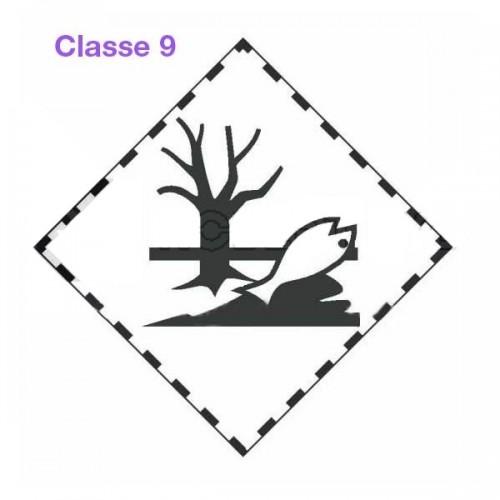 Symboles matières dangereuses 300 x 300 Classe 9