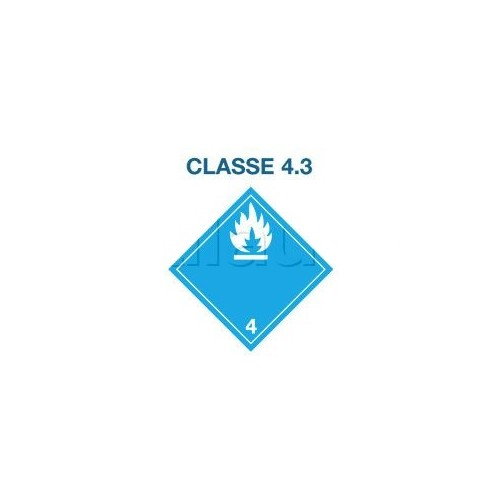 Symboles matières dangereuses 300 x 300 Classe 4.3