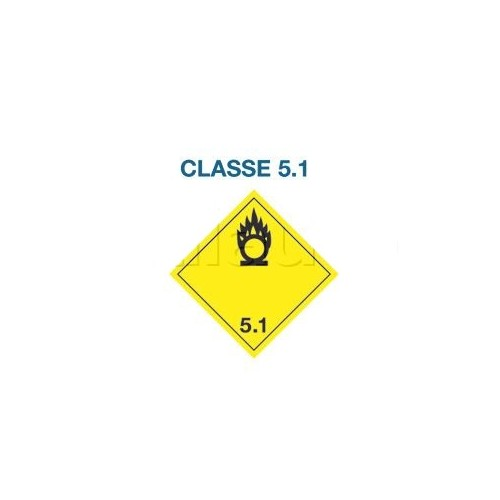 Symboles matières dangereuses 300 x 300 Classe 5.1