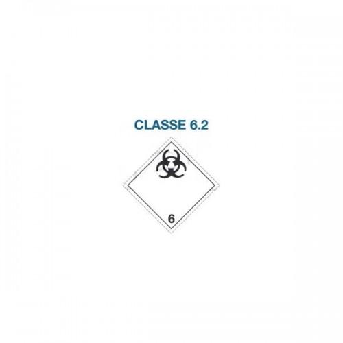Symboles matières dangereuses 300 x 300 Classe 6.2