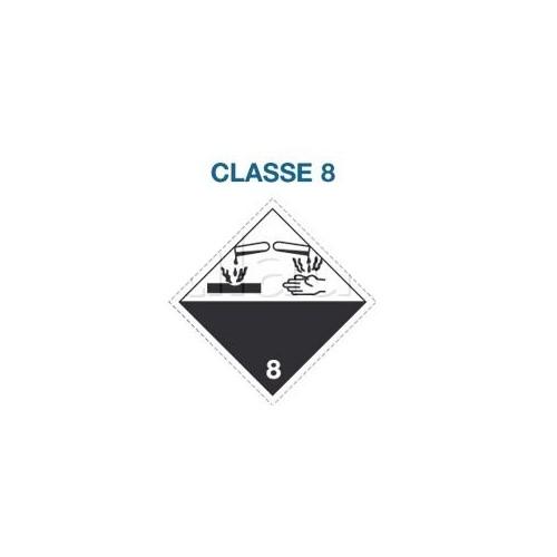 Symboles matières dangereuses 300 x 300 Classe 8