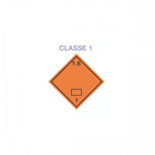 Symboles matières dangereuses 300 x 300 Classe 1