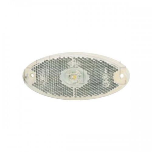 FEU BLA LED 12/24V CABL 20MM