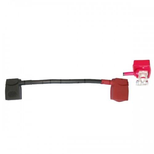 Pont batterie 50mm2 - 300mm - positif/négatif avec capot de protection