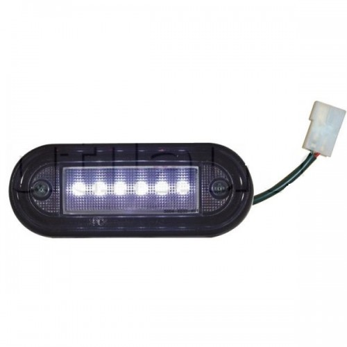 Plafonnier - 24 Volts - 6 Watts - 6 LEDS - IP 68