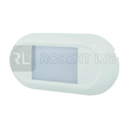 Plafonnier 27 Leds avec ou sans détecteur de mouvement - A poser - 10/30 Volts - IP67 136X66MM