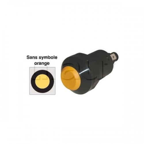 Interrupteur / Contacteur à bouton poussoir - Haute performance JAUNE 12V