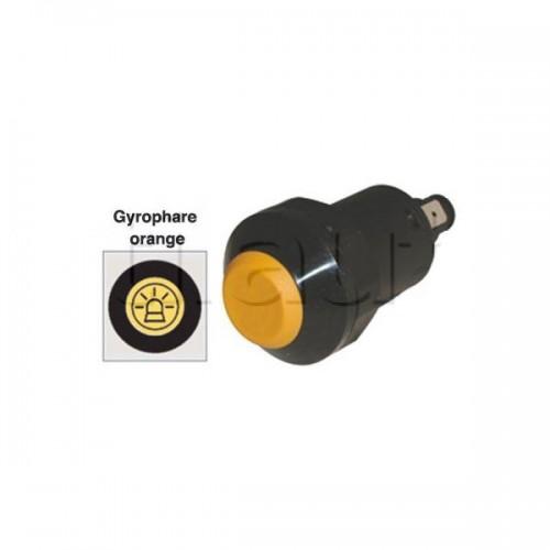Interrupteur / Contacteur à bouton poussoir - Haute performance GYROPHARE 12V