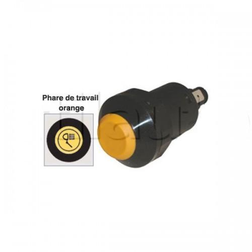 Interrupteur / Contacteur à bouton poussoir - Haute performance PHARE TRAVAIL 12V