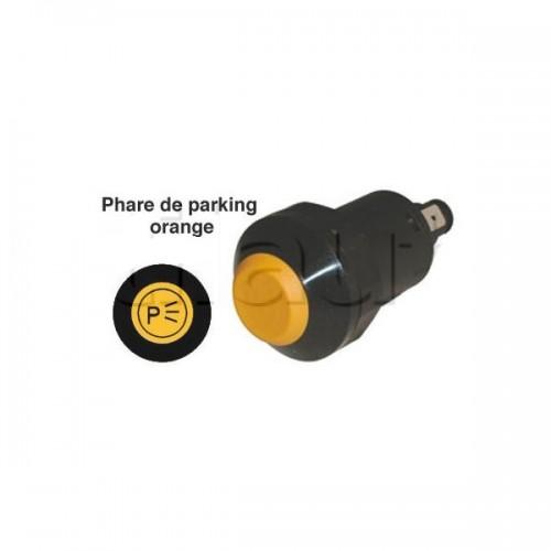 Interrupteur / Contacteur à bouton poussoir - Haute performance PARKING 24V.