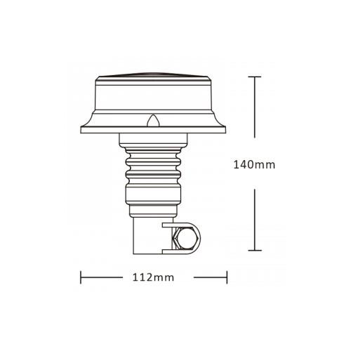 Gyrophare Flash Led R10 & R65 Hampe