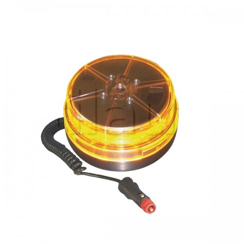 Gyrophare LED 12/24 VOLTS Dasteri DSL 450M multi-effets orange
