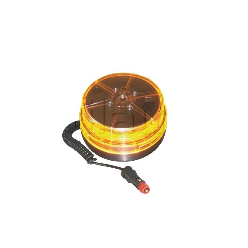 Gyrophare LED 12/24 VOLTS Dasteri DSL 450M multi-effets orange