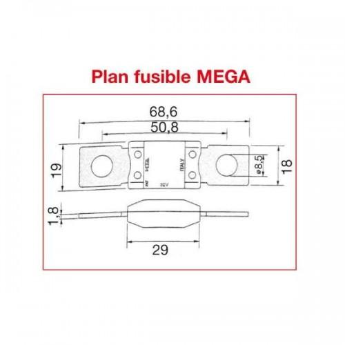 FUSIBLE MEGA 80A