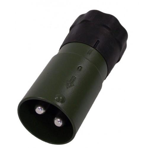 "PRISE ""OTAN"" 2 POLES - CABLE 50MM2 - A SOUDER/SERTIR - VG96917 - VERT"