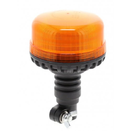 Gyrophare effet flash à Leds sur tige flexible - 12/24 Volts - IP66