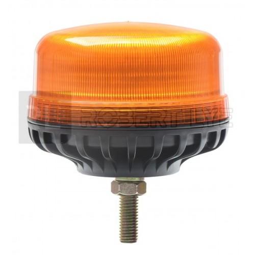 Gyrophare effet flash à Leds à fixer par boulon central - 12/24 Volts - IP66