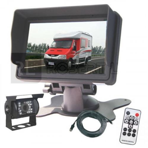 Kit de rétrovision écran LCD 5 pouces