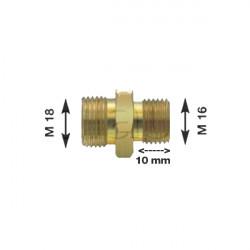 Olivette raccord pour flexibles air M16 X 1.5 Longueur filetage 10 mm
