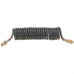 Flexible air polyuréthane noir 21 spires 3M M16 X 1.5