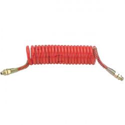 Flexible air polyuréthane Rouge 21 spires 3M M16 X 1.5