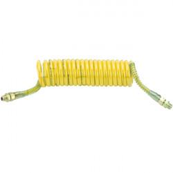 Flexible air polyuréthane Jaune 21 spires 3M M16 X 1.5