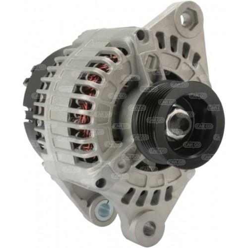 Alternateur 14 Volts 100 A, Denso 101210-1860, Fiat 46765835, Alfa romeo 60812583, Delco DRA4037, Lucas LRA02088