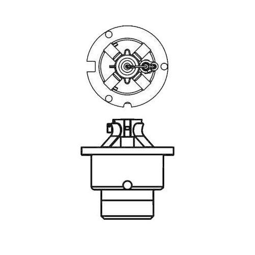 Ampoule Xénon D4R