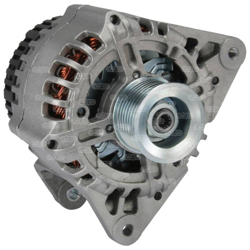 Alternateur 14 Volts 100 A, Krauf ALE1337, Rover group AMR4248A, Delco DRA3587