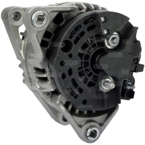 Alternateur 14 Volts 100 A, Bosch 0124225004, Opel 1204134, Krauf ALB1490, Delco DRB1250