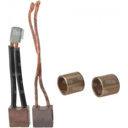 Jeu de balais et bagues, Bosch: 1917000211, Valeo 20856, 606384, Ducellier 618491