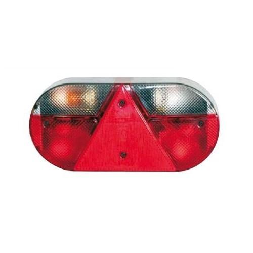 Feu arrière compact à ampoules 12 Volts gauche