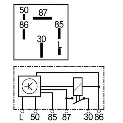 Relais de préchauffage FORD : 84fb6m092ba, 84fb6m092ca, 84fb6m092cb