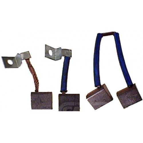 Jeu de balais PSX122-123-124, 12 Volts, Valeo: D8E153, D8E155, D8E157