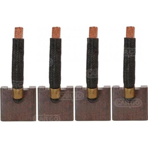 Jeu de balais JMTSX-48, Mitsubishi 34466-15101, 34466-15102, M3T61071, M3T61171, MM409411