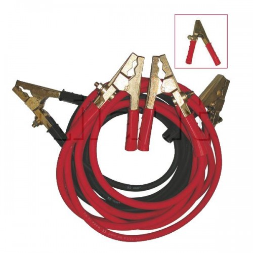 Jeu de câble démarrage 50mm2 Professionnel 1000A POIDS LOURD (3M)