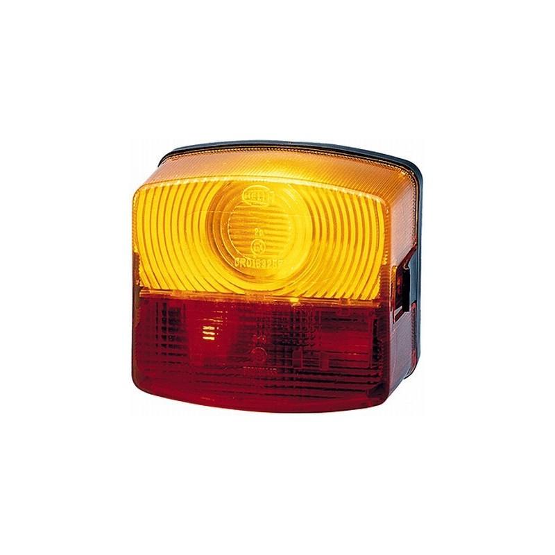 Feu arrière stop rouge hella 2SE 003 182-011